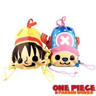 【ONE PIECE × PANSON WORKS】 海賊王 頭型束口背包
