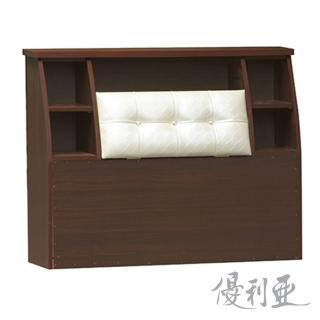 【優利亞-米洛釘釦】單人3.5尺床頭箱(3色可選)