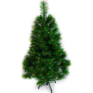 【聖誕裝飾品特賣】台灣製 4呎/4尺(120cm 特級綠色松針葉聖誕樹裸樹(不含飾品 不含燈)