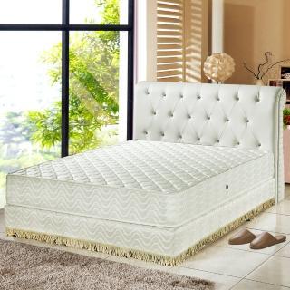 【睡芝寶】飯店用-暖暖羊毛3M防潑水獨立筒床墊(加大)