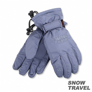 【SNOW TRAVEL】兩件式防水透氣手套(灰藍)