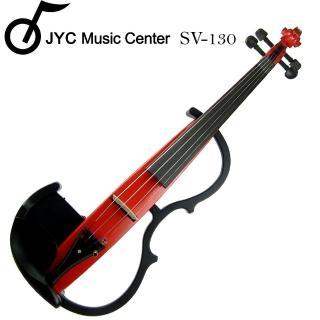 【集樂城樂器】JYC SV-130靜音提琴(RD)