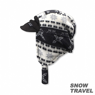 【SNOW TRAVEL】PORELLE防水透氣雙面帽(黑色)