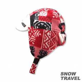 【SNOW TRAVEL】PORELLE防水透氣雙面帽(白)