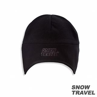 【SNOW TRAVEL】 WINDBLOC防風保暖遮耳帽(黑色)