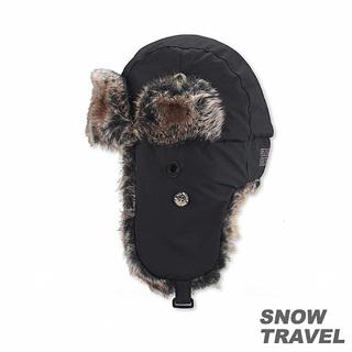 【SNOW TRAVEL】極地保暖遮耳帽(黑)