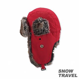 【SNOW TRAVEL】極地保暖遮耳帽(紅色)