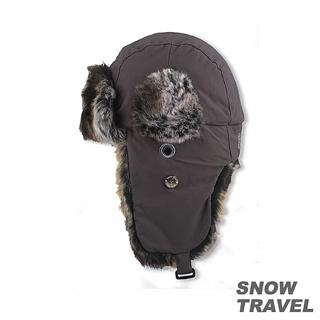 【SNOW TRAVEL】極地保暖遮耳帽(灰色)