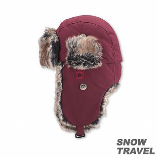 【SNOW TRAVEL】極地保暖遮耳帽(酒紅色)