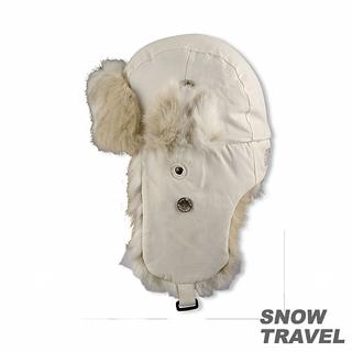 【SNOW TRAVEL】極地保暖遮耳帽(白)