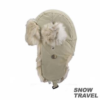 【SNOW TRAVEL】極地保暖遮耳帽(卡其)
