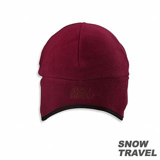 【SNOW TRAVEL】 WINDBLOC防風保暖遮耳帽(酒紅色)