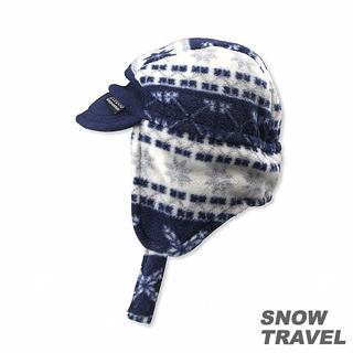 【SNOW TRAVEL】PORELLE防水透氣雙面帽(藍色)