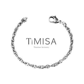【TiMISA】流星雨 純鈦手鍊