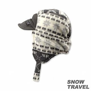 【SNOW TRAVEL】PORELLE防水透氣雙面帽(灰色)