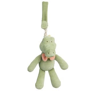 【美國miYim】有機棉推車吊掛娃娃(阿里鱷魚)