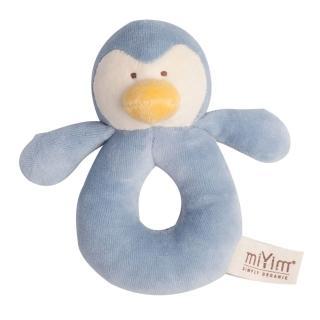 【miYim】有機棉手搖鈴(噗噗企鵝)