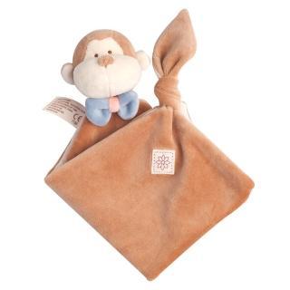 【美國miYim】有機棉安撫巾(布布小猴)