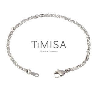 【TiMISA】曖昧 純鈦手鍊(10E)