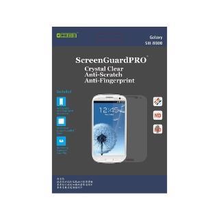 【GCOMM】Galaxy S3清透抗括抗指紋油污保護膜 附超音波抗靜電清潔(ScreenGuardPRO)