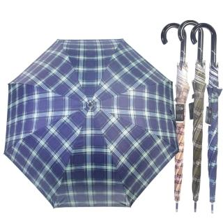 【wepon】時尚經典格紋自動傘