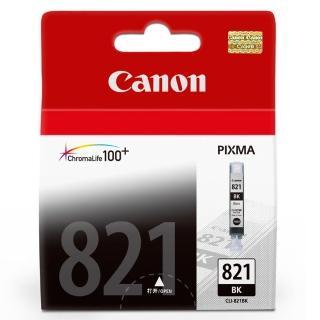 【CANON】CLI-821BK 原廠淡黑色墨水匣