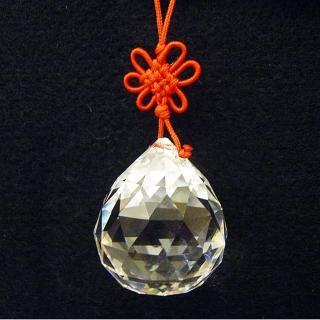 【開運陶源】《風水球》水晶球吊飾(大)