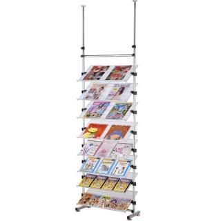 【巴塞隆納】08型多角度旋轉式雜誌書架鞋架層架