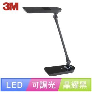 【3M】58°博視燈系列可調光LED檯燈 LD6000(晶耀黑)
