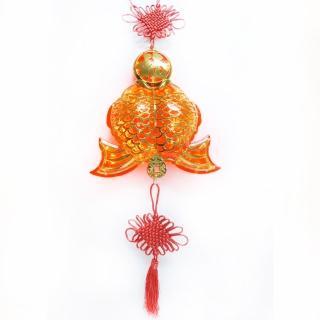 【農曆春節特選】百福雙魚 LED燈串吊飾(附控制器)