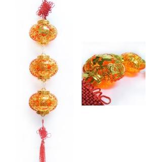 【農曆春節特選】招財如意福袋 LED燈串吊飾(附控制器)