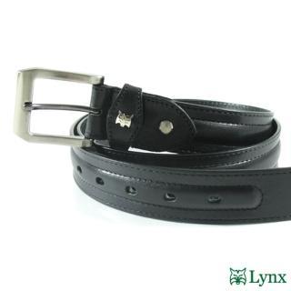 【Lynx】紳士時尚休閒皮帶 LY12-777(兩色)
