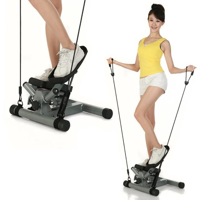 【KADIER】★第二代激瘦拉繩式超高效★扭擺踏步機