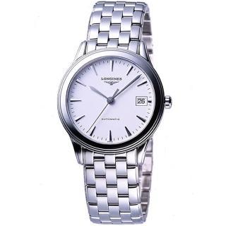 【LONGINES】典藏系列典藏機械腕錶-白(L47744126)