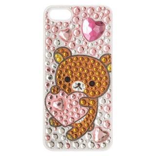 【San-X】懶熊閃亮晶鑽 iPhone 5 手機保護殼。懶熊
