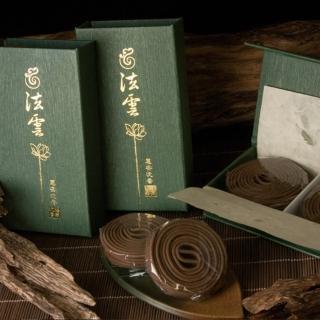 【法藏沉香】惠安沉香-法雲4小時盤香(2盒入)