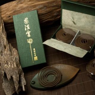 【法藏沉香】惠安沉香-法雲2小時盤香(2盒入)