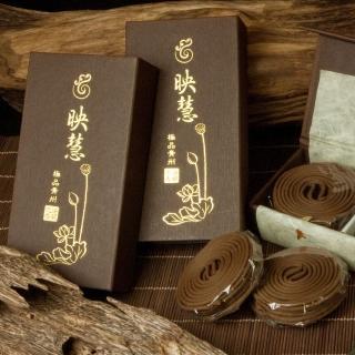 【法藏沉香】青州沉香-映慧4小時盤香(2盒入-甜韻之中帶果蜜香)