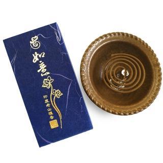 【法藏沉香】老山檀香-如意2小時盤香(4盒入)