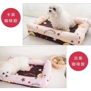【奶油獅】搖滾星星寵物記憶床墊-特大(2色)