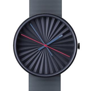 【NAVA DESIGN】Plicate watch 摺扇美學時尚腕錶-深藍(O460B)
