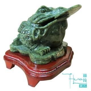 Hera特選迎財納褔青玉蟾蜍