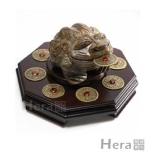Hera納財迎褔五行石蟾蜍