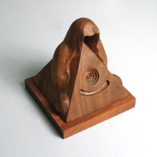 【MU LIFE】禪境(柚木)   MU LIFE 荒木雕塑藝品
