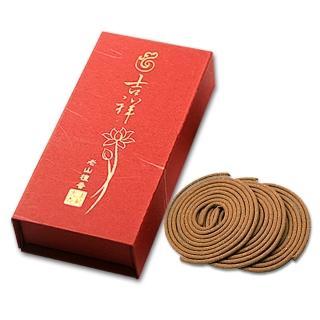 【法藏沉香】老山檀香-吉祥4小時盤香(3盒入)