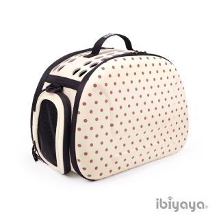 【IBIYAYA依比呀呀】EVA輕巧摺疊寵物提包-米點點(FC1007)