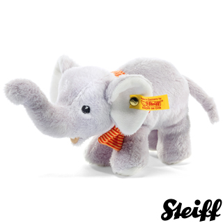 【STEIFF德國金耳釦泰迪熊】Elephant(嬰幼兒玩偶)
