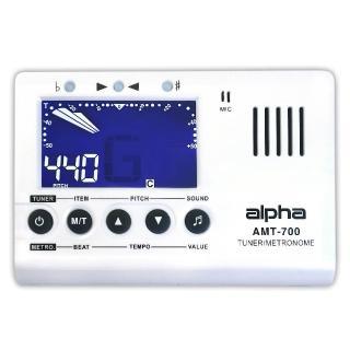 【Alpha】3合1調音節拍器 烏克麗麗、吉他、貝斯樂器適用(AMT-700)