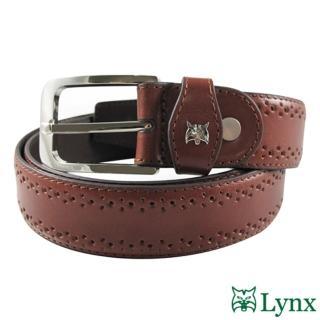 【Lynx】紳士休閒皮帶LY12-766(兩色)