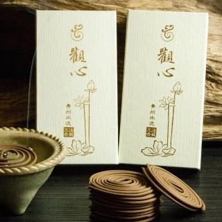【法藏沉香】青州沉香-觀心4小時盤香(3盒入)